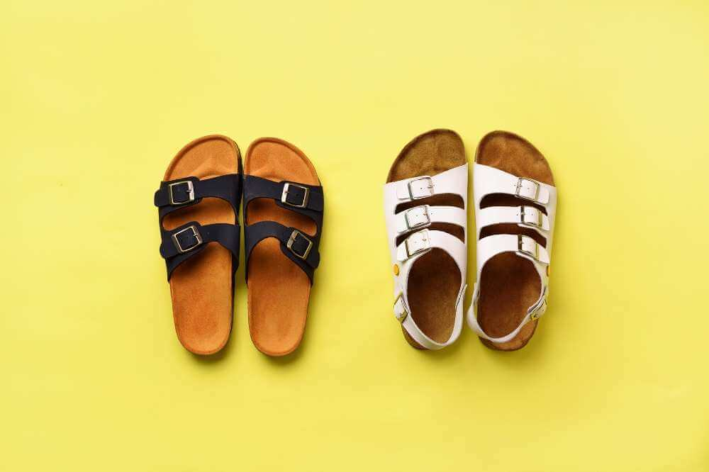 are birkenstocks good for flat feet
