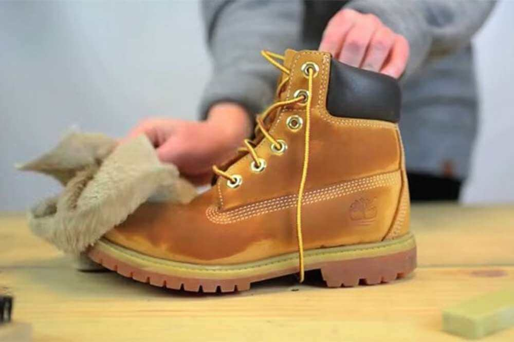 How to dry timberland boots