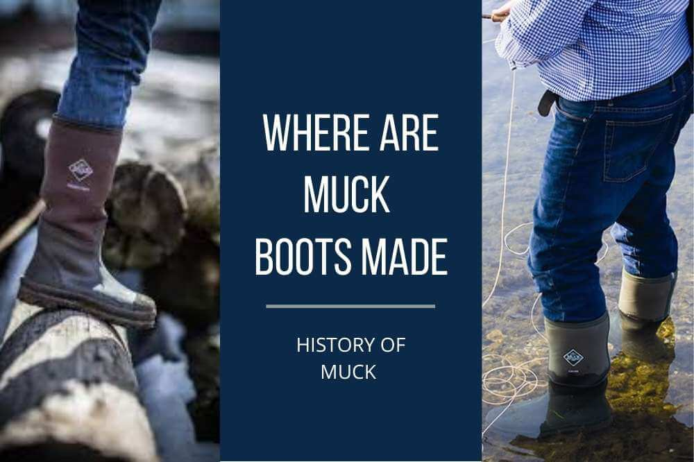 are muck boots made in usa