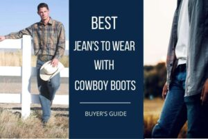 best jeans to wear with cowboy boots