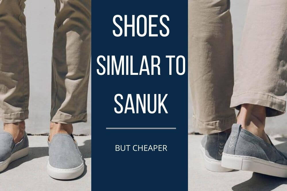 shoes similar to sanuk